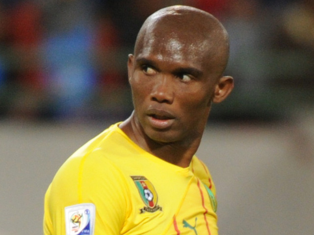 Eto'o who playes for Anzhi in the Russian Premier league is currently the highest paid footballer in the world with a reported salary of £17million per annum