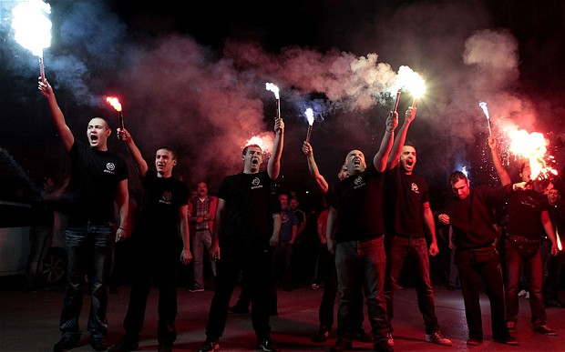 Golden Dawn: Their sharp rise has occurred during the worst economic crisis since The Great Depression